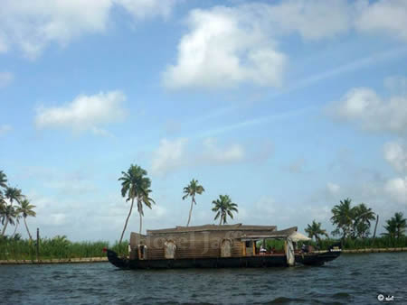 Kerala House Boat - Backwater